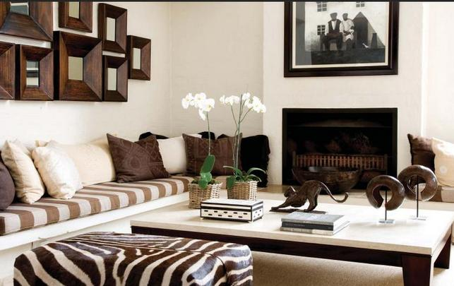for African interior decorating
