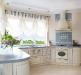 Белая кантри кухня
