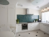 Элегантная белая кухня
