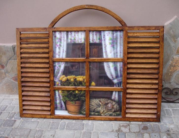 Фальш окно в интерьере фото