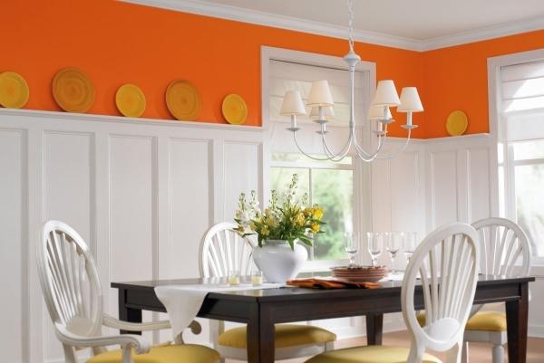 С чем сочетать оранжевый цвет