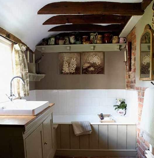 Ванная комната в стиле прованс iBud.ua.