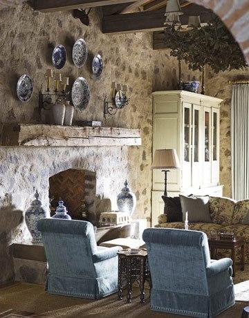 Мебель в прованском доме особенная.  Типичная прованская