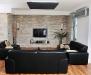 Дизайн ТВ-стены в гостиной
