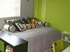 Зеленый в комнате для ребенка