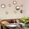 Украшение стен зеркалами