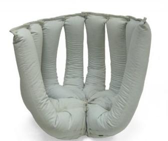"""""""Кресло"""" из старых джинсовых брюк"""