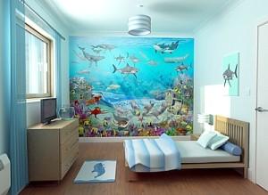 Палочка-выручалочка - это фотообои и постеры морской тематики