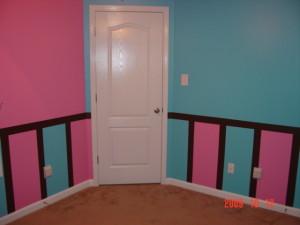 Зонирование цветом комнаты для близнецов (с блога howardjones.ws)
