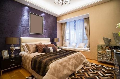 Цвет в интерьере спальни, Домфронт