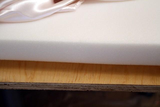 Изготовление панели с фанерной основой и подложкой