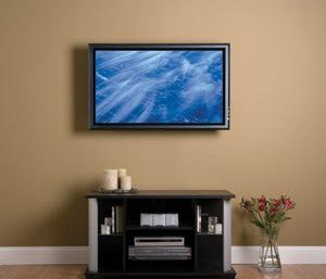 Телевизор на стене: провода и кабели