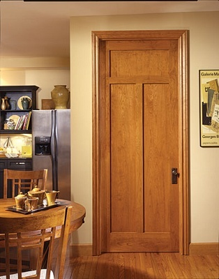 Сочетание двери и пола