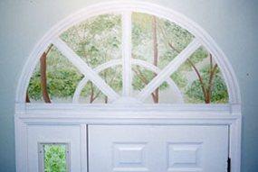 Фальш окно в интерьере