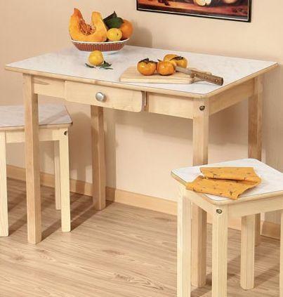Обеденный стол узкий