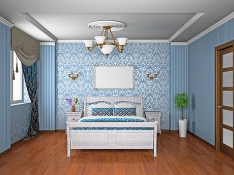 Дизайн потолка в зале в квартире