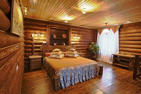спальня в русском традиционном стиле