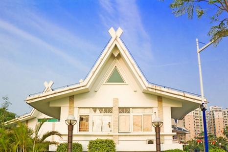 домик с крышей