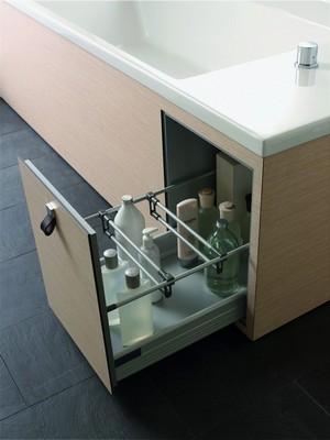 функциональная конструкция под ванну