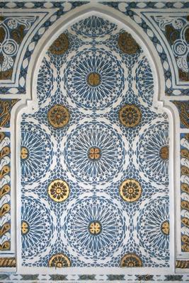 стены в марокканском стиле