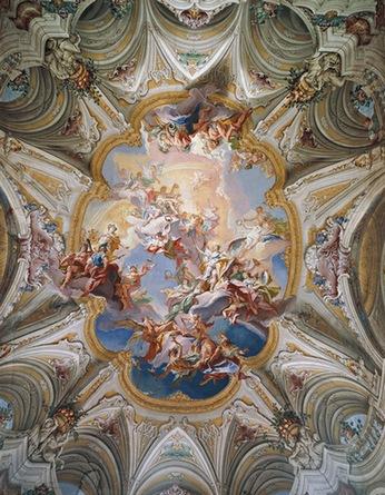 потолок барокко
