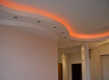 светодиод на потолке