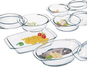посуда из жаропрочного стекла