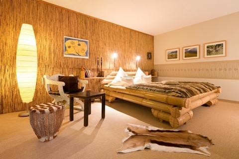 бамбуковая отделка и мебель