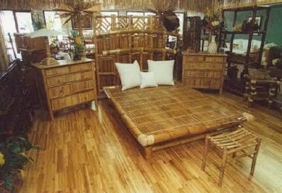 бамбуковая комната