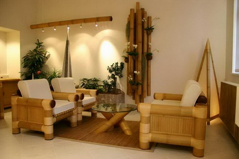 бамбуковый декор