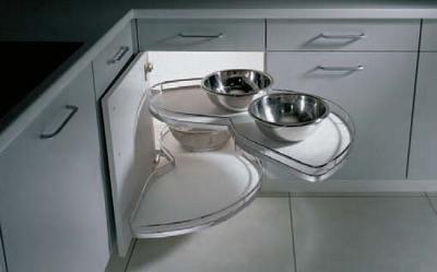 поворотный механизм для угловой кухни