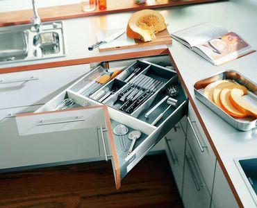 угловой ящик для кухни