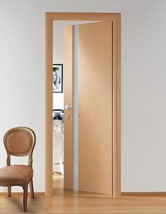 классическая распашная дверь