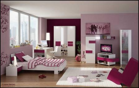 комната девочки подростка