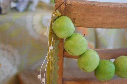 яблочный декор для дома