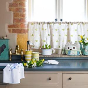 кухня шторы в стиле кантри