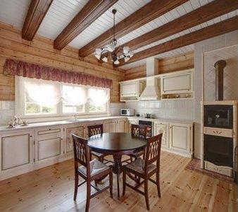 кухонные шторы в стиле кантри