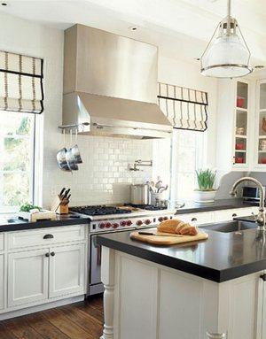 шторы в стиле кантри для кухни