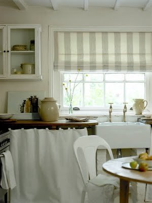 кухонные шторы кантри