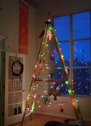 альтернативная новогодняя елка