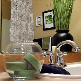 как украсить ванную