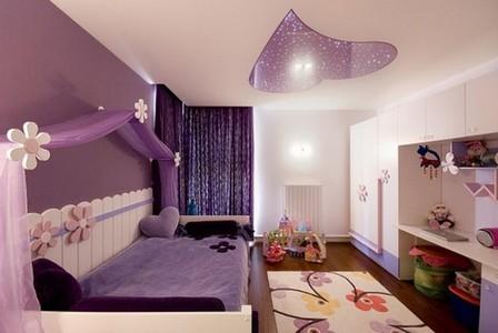 Дизайн спальни фиолетовой фото