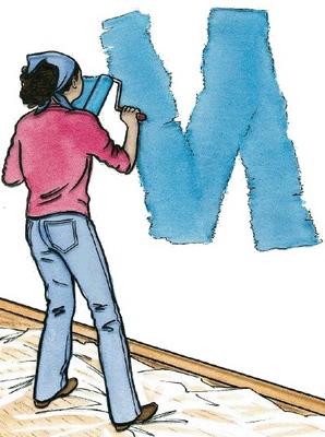Как красить стены в комнате: от выбора краски и цвета до работы валиком, Домфронт