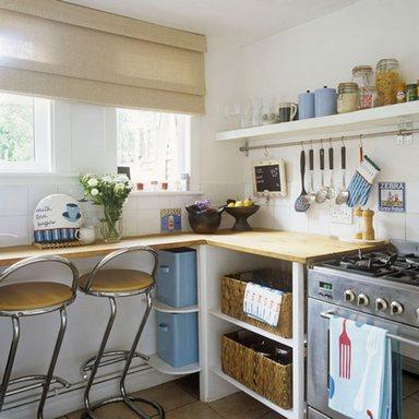 мини стойка на кухне