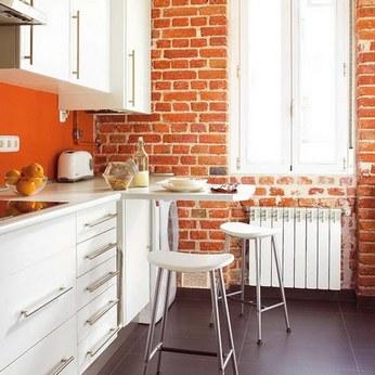 мини барная стойка на кухне