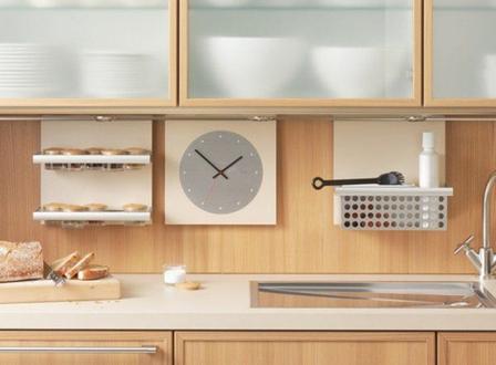 часы в кухне