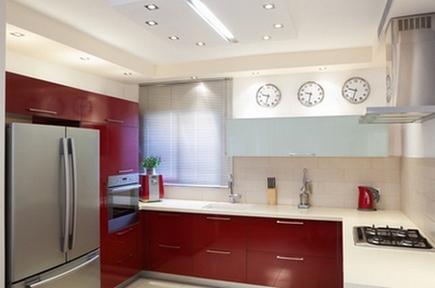 часы на кухне