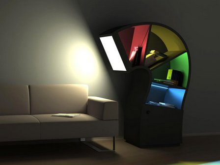 светодиоды в интерьере