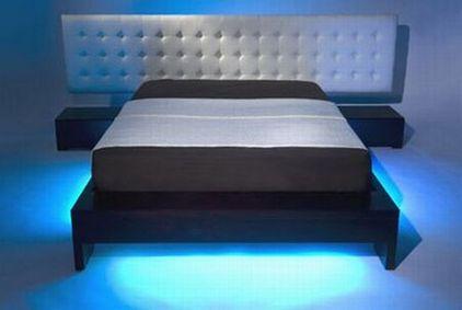 светодиодная подсветка кровати