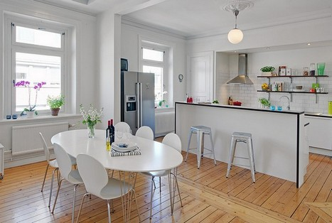 for Comedor y cocina en un mismo ambiente